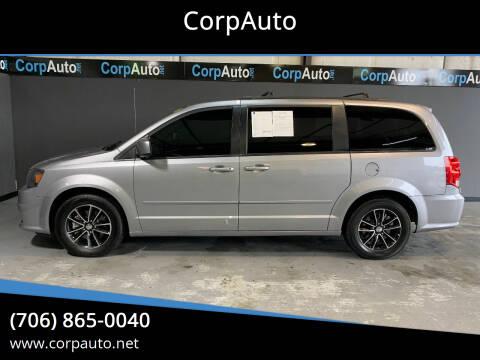 2017 Dodge Grand Caravan for sale at CorpAuto in Cleveland GA