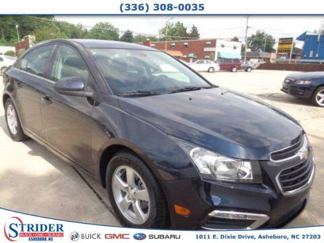 2016 Chevrolet Cruze Limited for sale at STRIDER BUICK GMC SUBARU in Asheboro NC