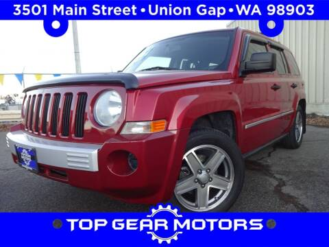2008 Jeep Patriot for sale at Top Gear Motors in Union Gap WA