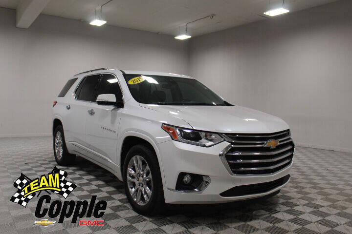 2019 Chevrolet Traverse for sale at Copple Chevrolet GMC Inc in Louisville NE