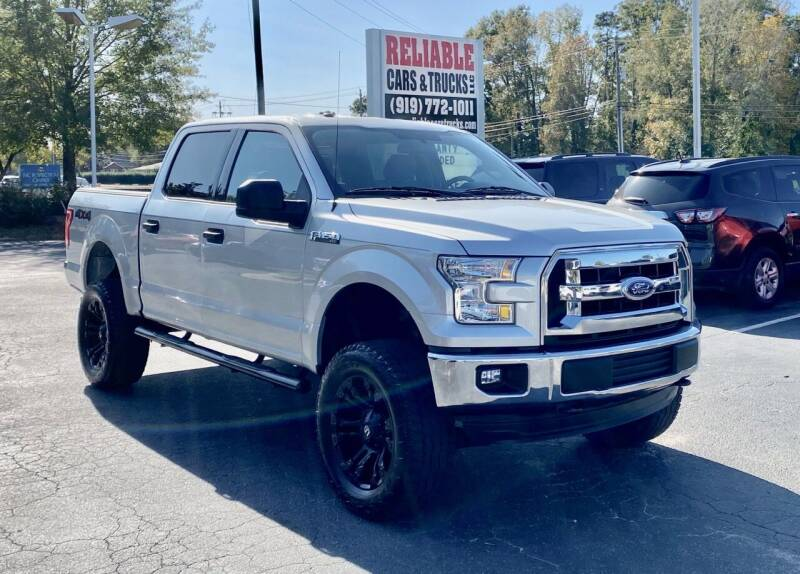 2016 Ford F-150 for sale at Reliable Cars & Trucks LLC in Raleigh NC