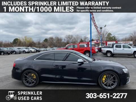 2013 Audi S5 for sale at Sprinkler Used Cars in Longmont CO