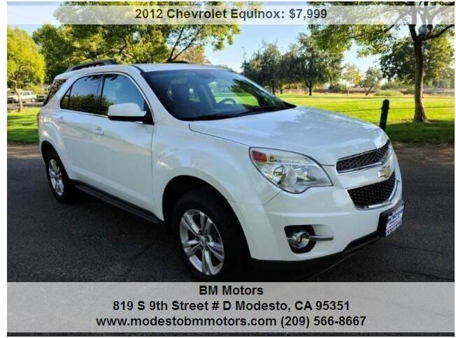2012 Chevrolet Equinox for sale at BM Motors in Modesto CA