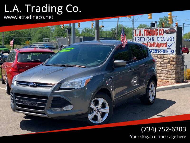 2014 Ford Escape for sale at L.A. Trading Co. in Woodhaven MI