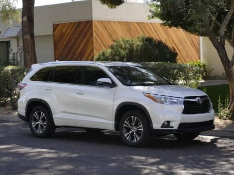 2016 Toyota Highlander for sale at AZGT LLC in Mesa AZ