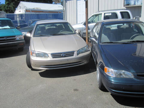 2001 Toyota Camry for sale at All About Cars in Marysville WA