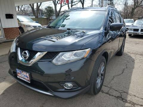 2016 Nissan Rogue for sale at New Wheels in Glendale Heights IL