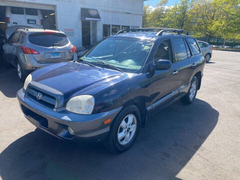 2005 Hyundai Santa Fe for sale at Vuolo Auto Sales in North Haven CT