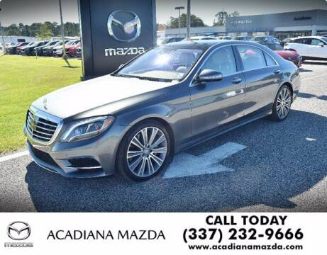 2017 Mercedes-Benz S-Class for sale at Acadiana Automotive Group in Lafayette LA