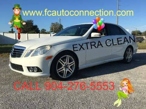 2010 Mercedes-Benz E-Class for sale at First Coast Auto Connection in Orange Park FL