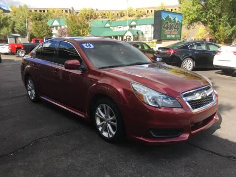 2014 Subaru Legacy for sale at 4X4 Auto in Cortez CO