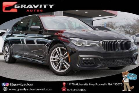 2018 BMW 7 Series for sale at Gravity Autos Roswell in Roswell GA