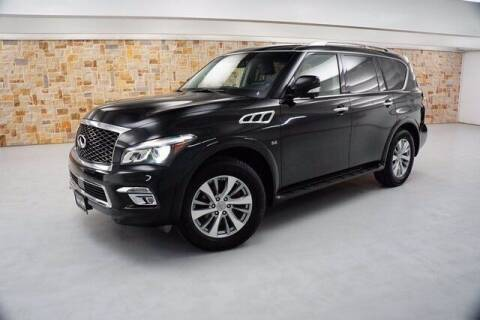 2016 Infiniti QX80 for sale at Jerry's Buick GMC in Weatherford TX