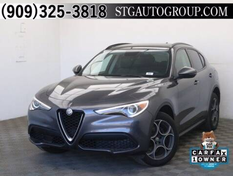 2018 Alfa Romeo Stelvio for sale at STG Auto Group in Montclair CA