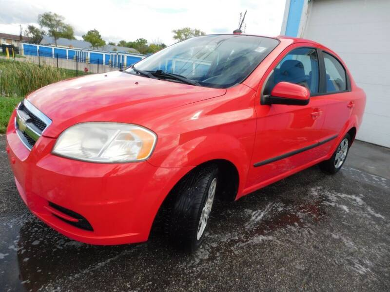 2010 Chevrolet Aveo for sale at Safeway Auto Sales in Indianapolis IN