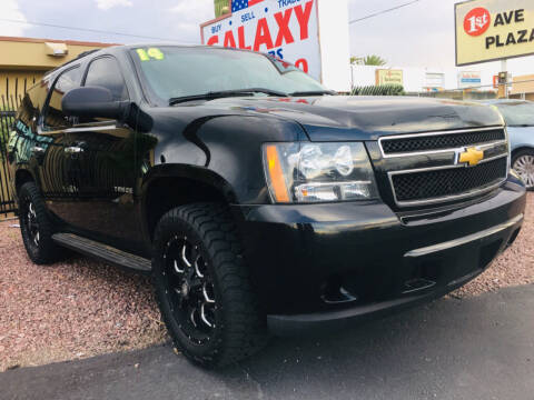 2014 Chevrolet Tahoe for sale at GALAXY MOTORS in Tucson AZ