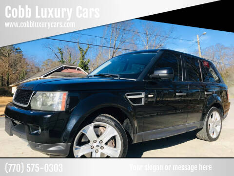 2011 Land Rover Range Rover Sport for sale at Cobb Luxury Cars in Marietta GA