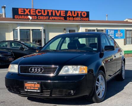 2000 Audi A6 for sale at Executive Auto in Winchester VA