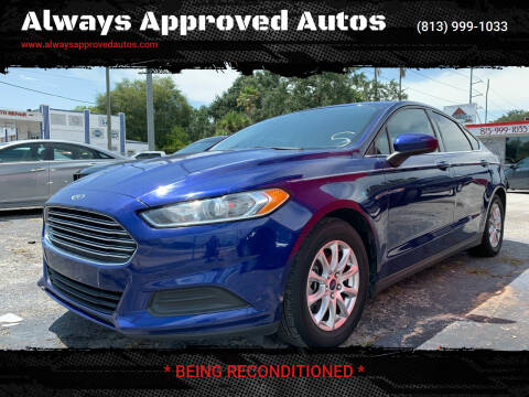 2016 Ford Fusion for sale at Always Approved Autos in Tampa FL