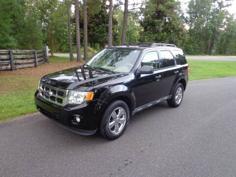 2012 Ford Escape for sale at CAROLINA CLASSIC AUTOS in Fort Lawn SC