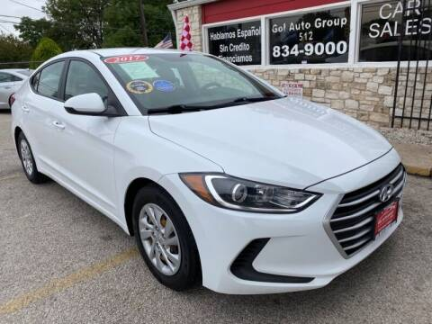 2017 Hyundai Elantra for sale at GOL Auto Group in Austin TX