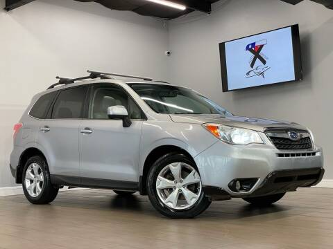 2015 Subaru Forester for sale at TX Auto Group in Houston TX