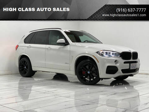 2014 BMW X5 for sale at HIGH CLASS AUTO SALES in Rancho Cordova CA