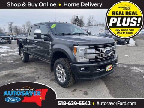 2017 Ford F-250 Super Duty for sale at Autosaver Ford in Comstock NY