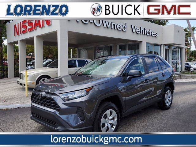 2021 Toyota RAV4 for sale at Lorenzo Buick GMC in Miami FL