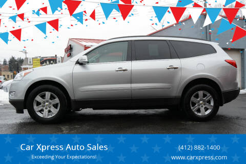 2012 Chevrolet Traverse for sale at Car Xpress Auto Sales in Pittsburgh PA
