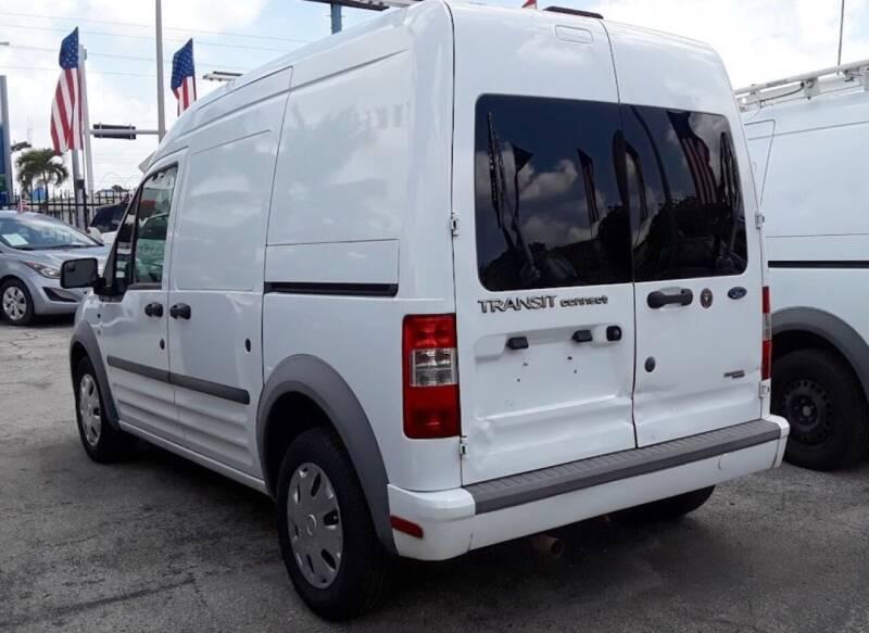 2012 Ford Transit Connect XLT 4dr Cargo Mini-Van w/Rear Glass - Miami FL