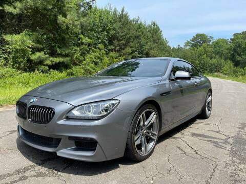 2013 BMW 6 Series for sale at Carrera AutoHaus Inc in Clayton NC