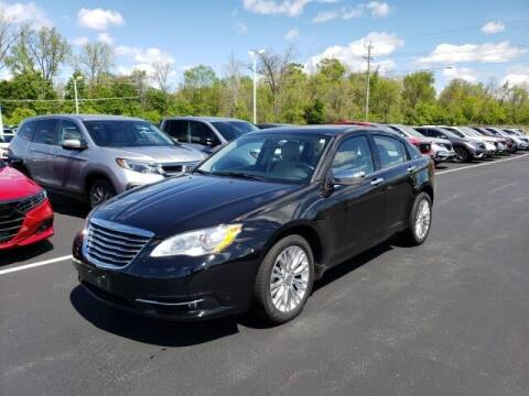 2011 Chrysler 200 for sale at White's Honda Toyota of Lima in Lima OH