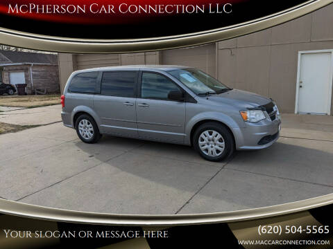 2014 Dodge Grand Caravan for sale at McPherson Car Connection LLC in Mcpherson KS