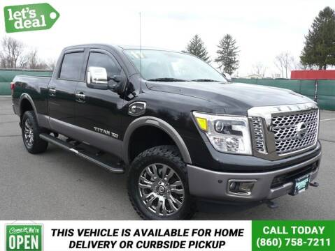 2017 Nissan Titan XD for sale at Shamrock Motors in East Windsor CT