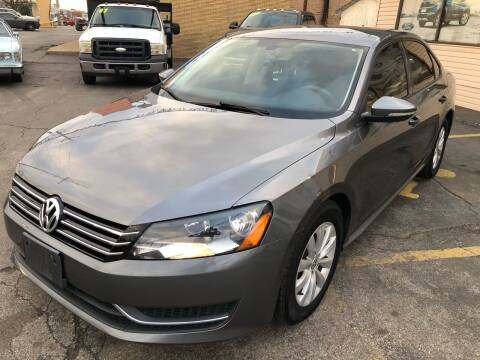 2012 Volkswagen Passat for sale at TOP YIN MOTORS in Mount Prospect IL