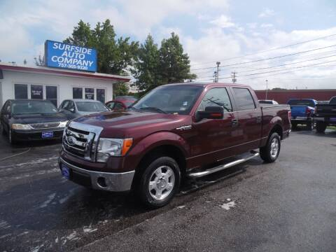 2010 Ford F-150 for sale at Surfside Auto Company in Norfolk VA