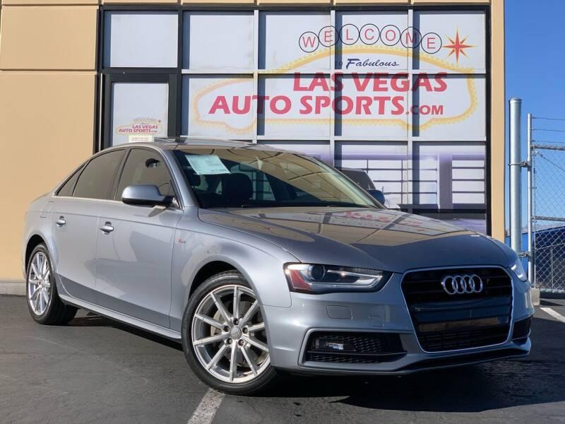 2016 Audi A4 for sale at Las Vegas Auto Sports in Las Vegas NV