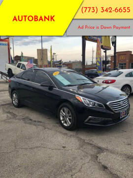 2015 Hyundai Sonata for sale at AutoBank in Chicago IL