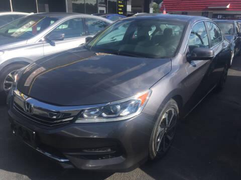 2016 Honda Accord for sale at MELILLO MOTORS INC in North Haven CT