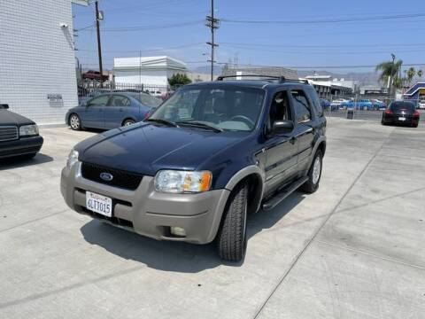 2002 Ford Escape for sale at Hunter's Auto Inc in North Hollywood CA