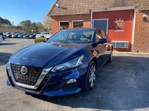 2019 Nissan Altima for sale at AP Automotive in Cary NC