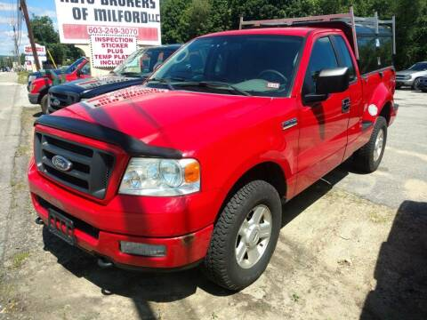 2005 Ford F-150 for sale at Auto Brokers of Milford in Milford NH