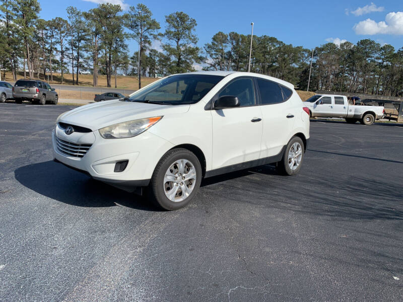 2013 Hyundai Tucson for sale at SELECT AUTO SALES in Mobile AL