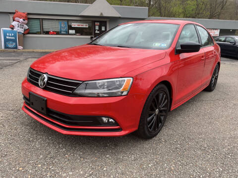 2016 Volkswagen Jetta for sale at B & P Motors LTD in Glenshaw PA