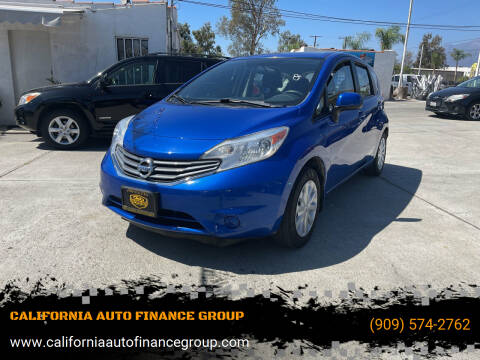 2014 Nissan Versa Note for sale at CALIFORNIA AUTO FINANCE GROUP in Fontana CA