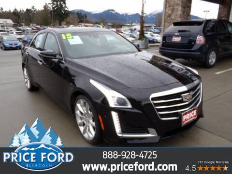 2015 Cadillac CTS for sale at Price Ford Lincoln in Port Angeles WA