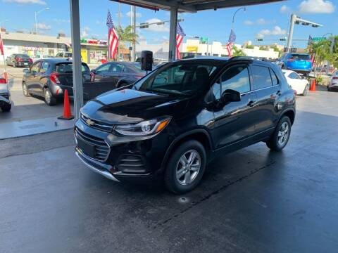 2017 Chevrolet Trax for sale at American Auto Sales in Hialeah FL