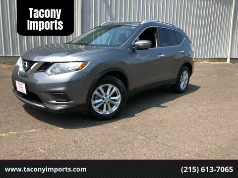 2015 Nissan Rogue for sale at Tacony Imports in Philadelphia PA