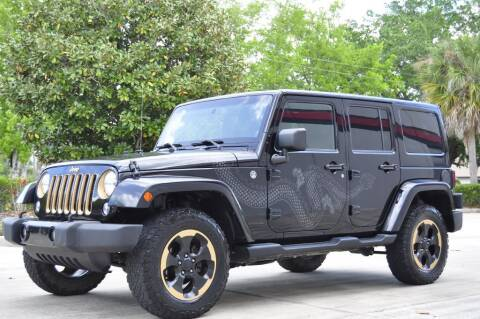 2014 Jeep Wrangler Unlimited for sale at Vision Motors, Inc. in Winter Garden FL
